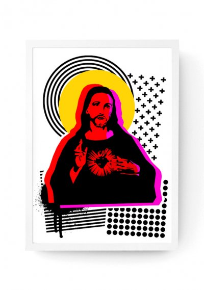 Jesus - Screen Print A3