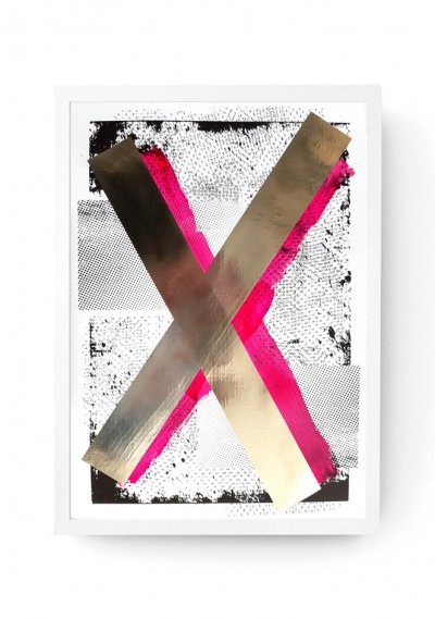 X - Customised Digital Print A3