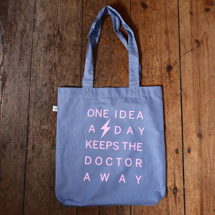 One Idea A Day Keeps The Doctor Away  - Blue