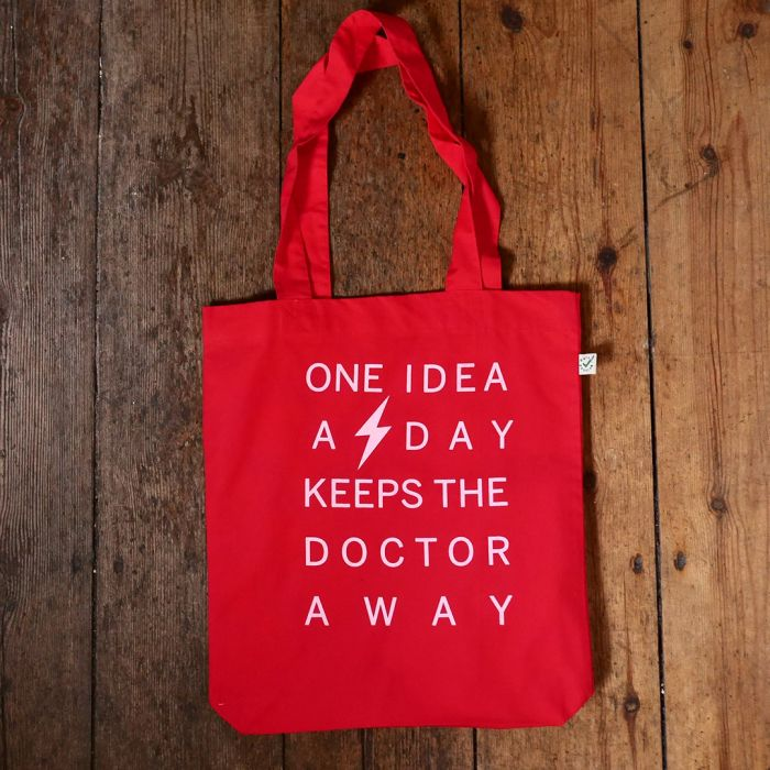 One Idea A Day Keeps The Doctor Away - Red