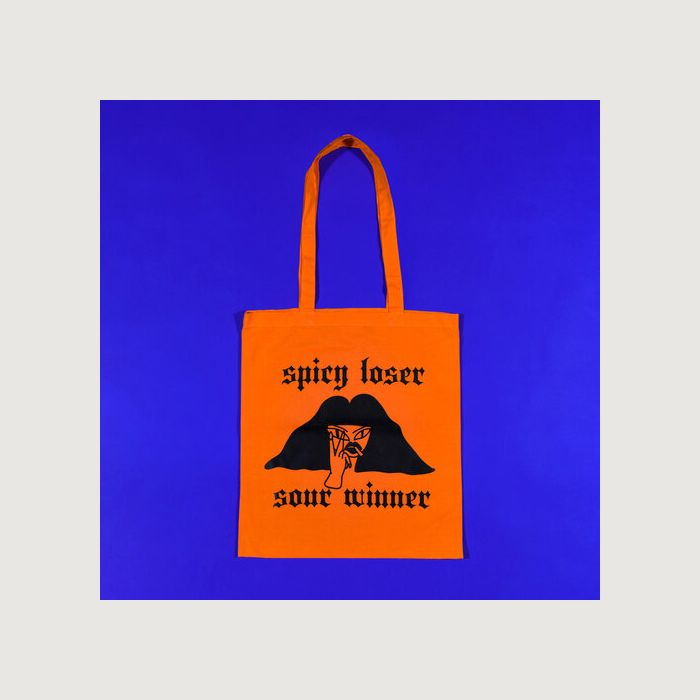 SPICY LOSER SOUR WINNER tote bag by EGLE ZVIRBLYTE