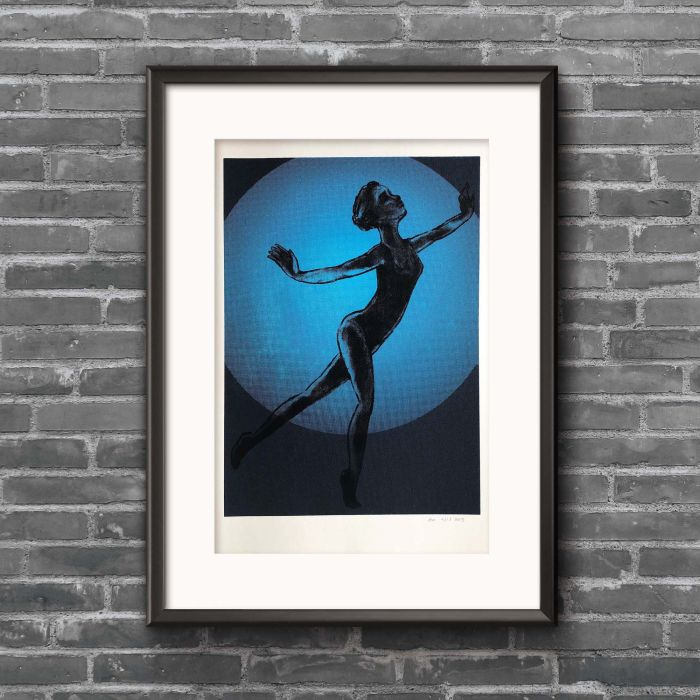 Acrobat screenprint (Glide edition)