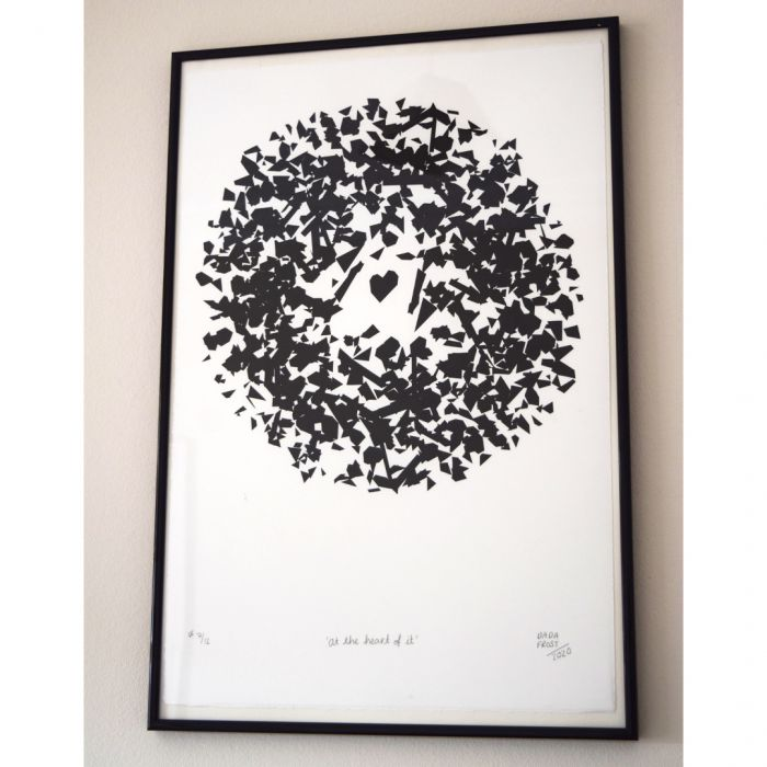 'At the heart of it' | Limited Edition Screen Print