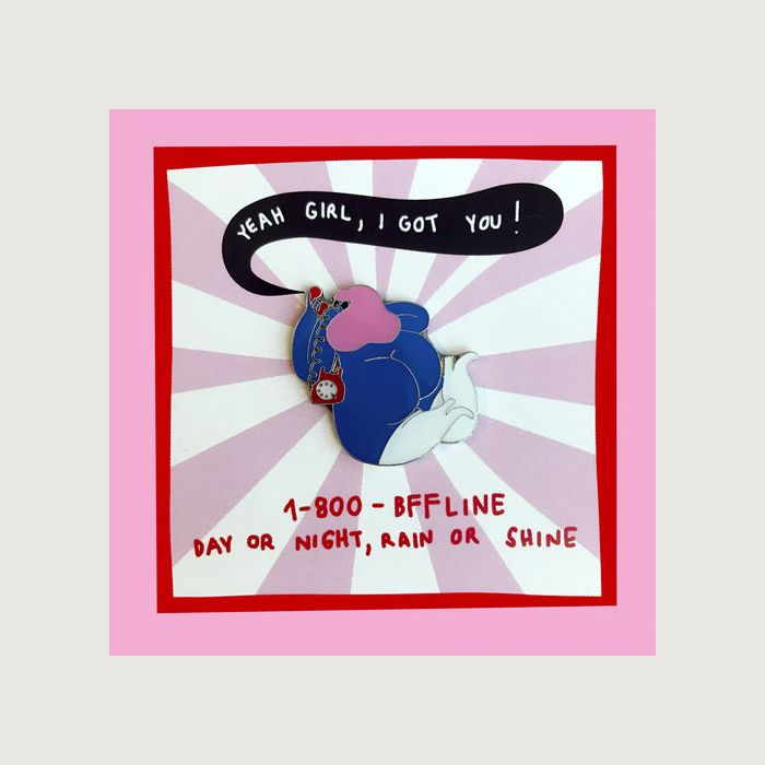 BFF CALL LINE pin by EGLE ZVIRBLYTE