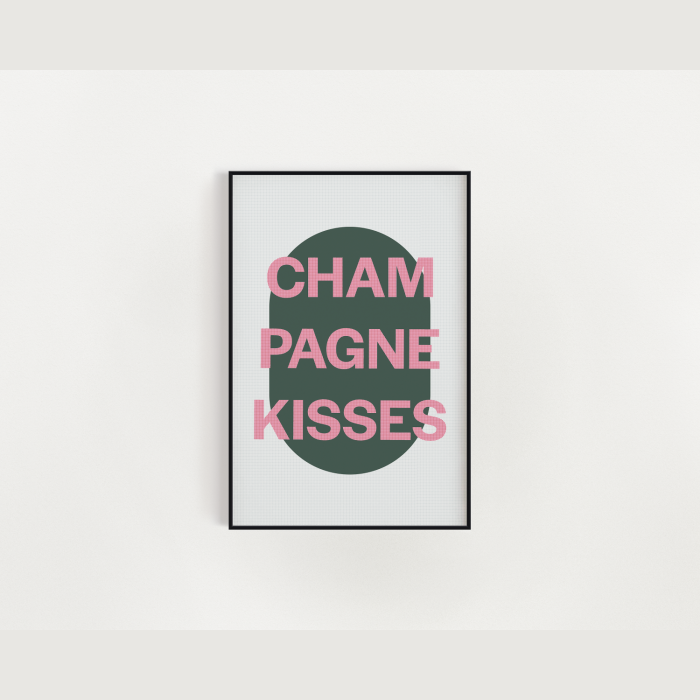 Jesse Ware | Champagne Kisses -Pink + Green