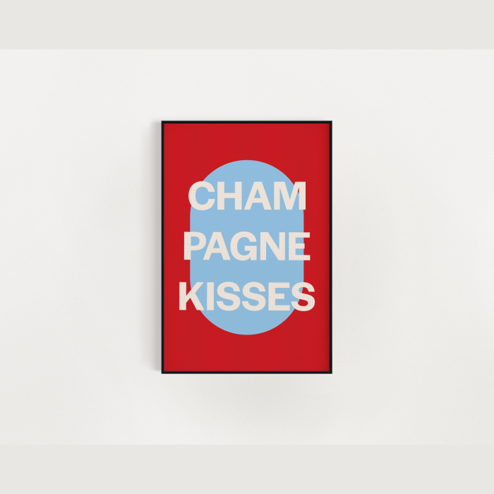 Jesse Ware | Champagne Kisses -Red + Babyblue