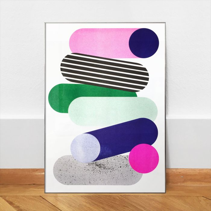 Color Proof II – Poster A3 – Riso Print