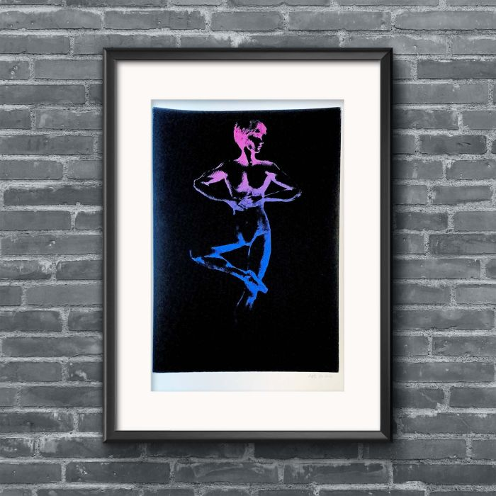 Cosmic Dancer screenprint