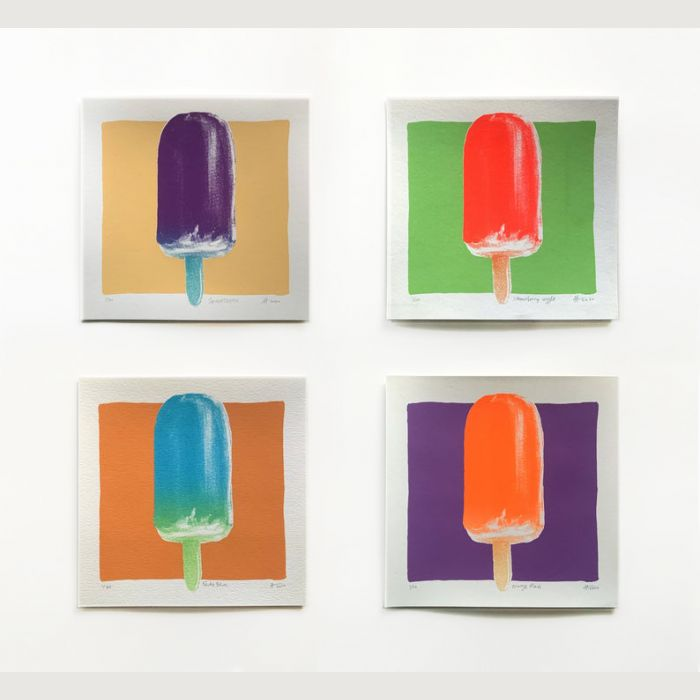 POPsicle series - Set of FOUR