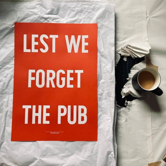 Lest We Forget The Pub