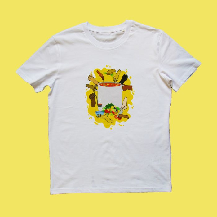 Let's Work Together T-shirt by Smex